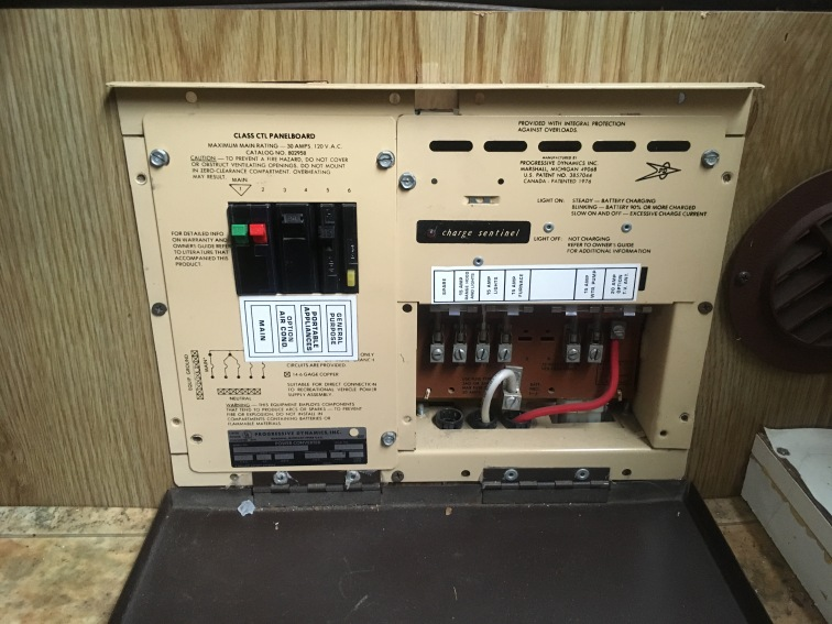 The old power converter. RIP